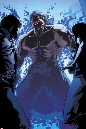 Spider-Man 2099 Panel, Featuring Lash Poster