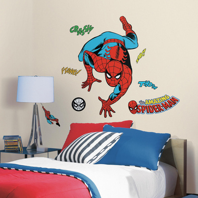 Classic Spider-Man Comic Peel and Stick Wall Decals Wall Decal
