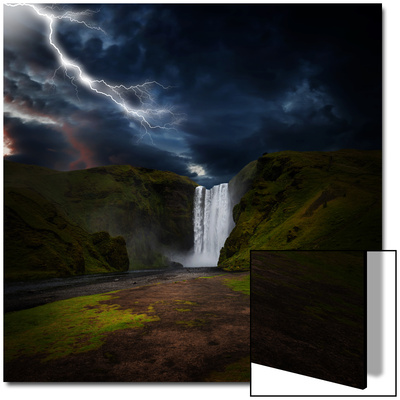 Skógafoss - Iceland Prints by Philippe Sainte-Laudy