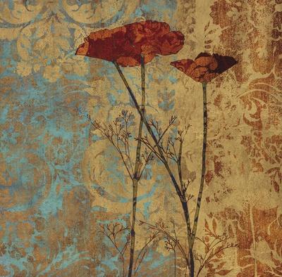 Poppy Pattern II Posters by Eloise Ball