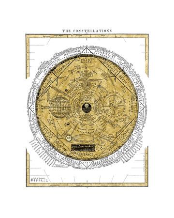 The Constellations Giclée-Druck von Oliver Jeffries