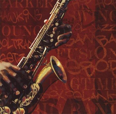 Jazz I Art by Eloise Ball