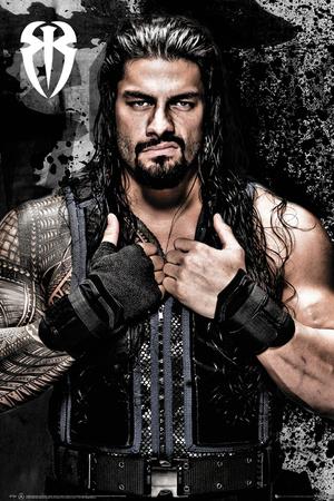 WWE- Roman Reigns Posters by WORLDWIDE