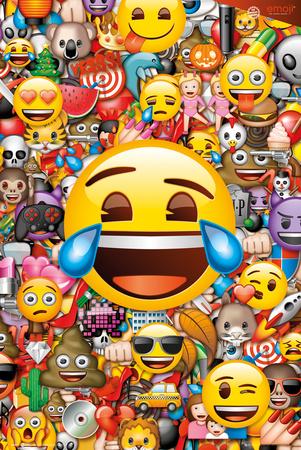 Emoji Collage plakat