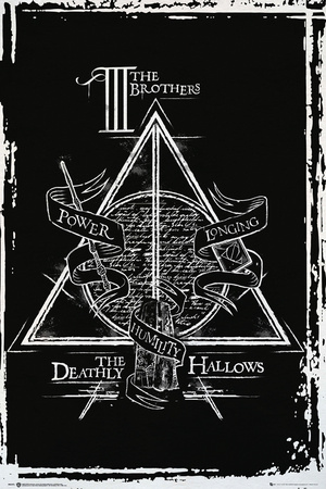 Harry Potter- Deathly Hallows Diagram Posters by WORLDWIDE