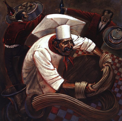 Chefs in Motion III Prints by Dylan O'connor