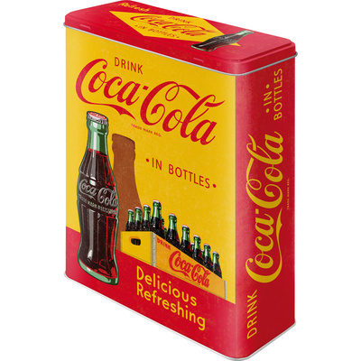 Coca-Cola - In Bottles Yellow Novelty
