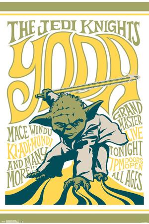 Star Wars- Grand Master Yoda Poster