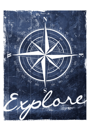 Explore Your Blue Art by Jace Grey