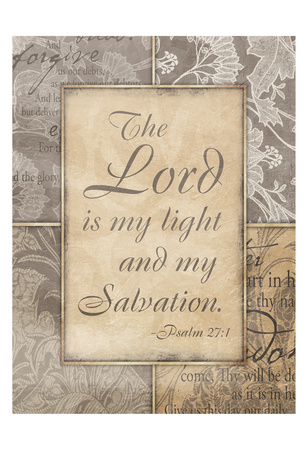 Lord Is My Light Posters by Jace Grey
