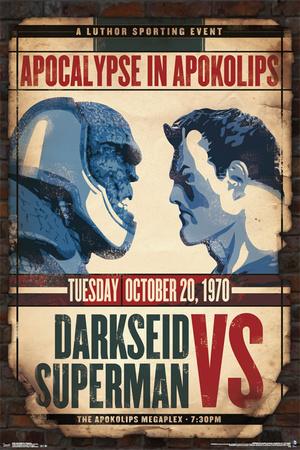 DC Comics- Darkseid Vs Superman Print
