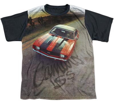 Youth: Chevy- Camaro SS Black Back T-Shirt