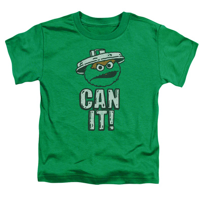 Toddler: Sesame Street- Oscar Can It! T-shirts