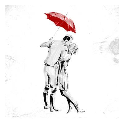 True Love Red Pop Art by  OnRei
