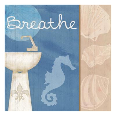Breathe Sink Print by Lauren Gibbons