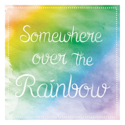 Over The Rainbow Art by Lauren Gibbons