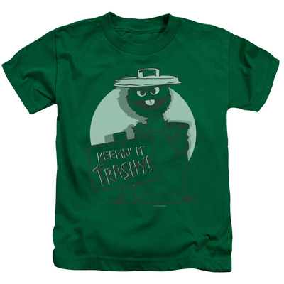 Juvenile: Sesame Street- Oscar Keepin It Trashy T-Shirt