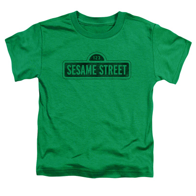 Toddler: Sesame Street- Solid Logo T-Shirt
