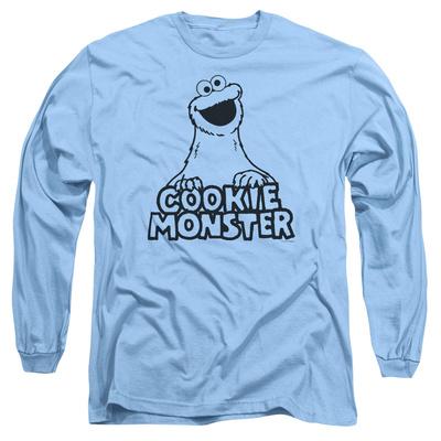 Long Sleeve: Sesame Street- Vintage Cookie Monster T-shirts