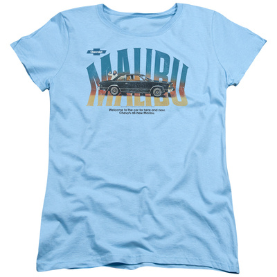 Womans: Chevy- Malibu Here & Now Car T-Shirt