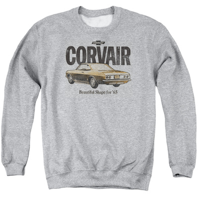 Crewneck Sweatshirt: Chevy- Corvair '65 Beauty T-shirts