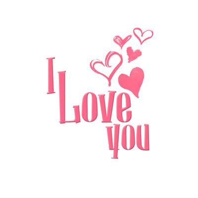 Love Hearts Prints by Jace Grey