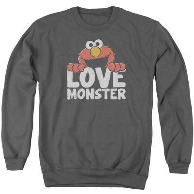 Crewneck Sweatshirt: Sesame Street- Elmo Love Monster Shirts