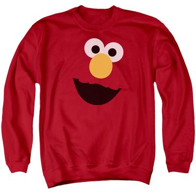 Crewneck Sweatshirt: Sesame Street- Big Elmo Face T-shirts