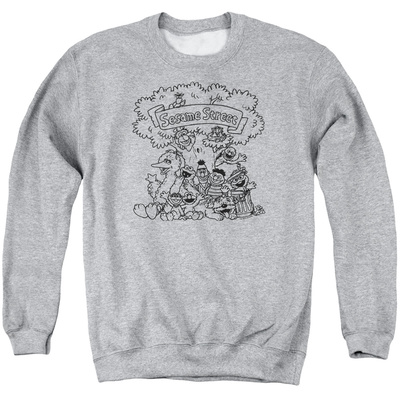 Crewneck Sweatshirt: Sesame Street- Classic Friends Shirts