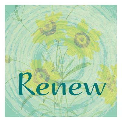 Renew Print by Jessica Vonammon