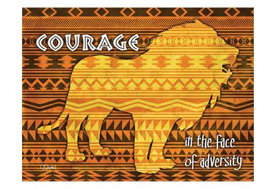 African Lion Prints by Carole Stevens
