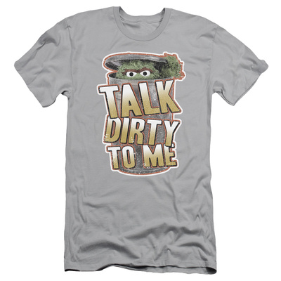Sesame Street- Talk Dirty To Me (Slim Fit) T-Shirt