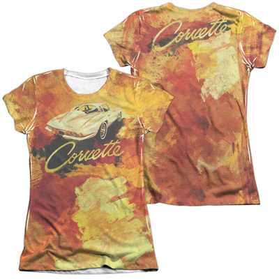 Juniors: Chevy- Painted Sting Ray (Front/Back) T-Shirt