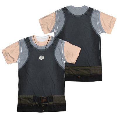 Battle Star Galactica- Tank Top Costume Tee (Front/Back) T-shirts