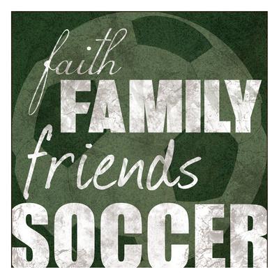Soccer Friends Prints by Lauren Gibbons