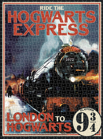 Harry Potter Hogwarts Express 1,000 Piece Puzzle Jigsaw Puzzle