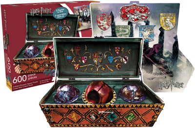 Harry Potter - Quidditch Set (2 Sided, Shaped Puzzle) Jigsaw Puzzle