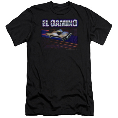 Chevy- El Camino Dash (Slim Fit) Shirt