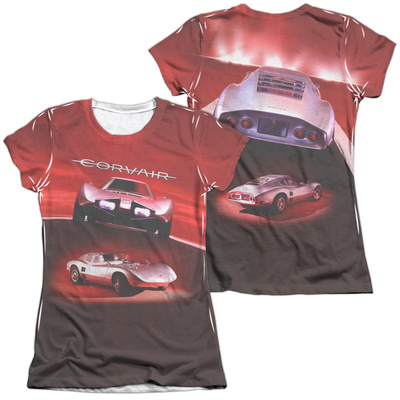 Juniors: Chevy- Corair Silver Bullet (Front/Back) T-Shirt