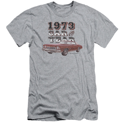 Chevy- Monte Carlo '73 Car Of The Year (Slim Fit) Shirts