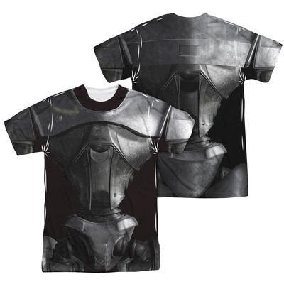 Battle Star Galactica- Centurion Costume Tee (Front/Back) T-Shirt