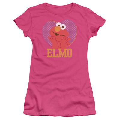Juniors: Sesame Street- Big Heart Elmo T-Shirt