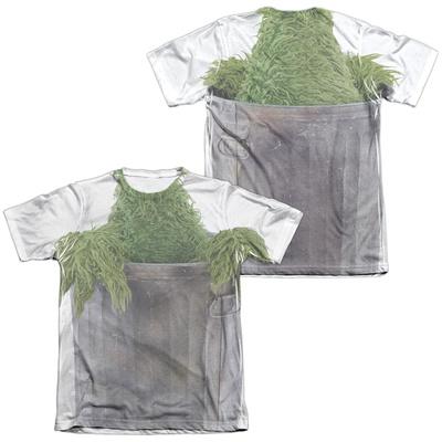 Sesame Street- Oscar Costume Tee (Front/Back) T-shirts