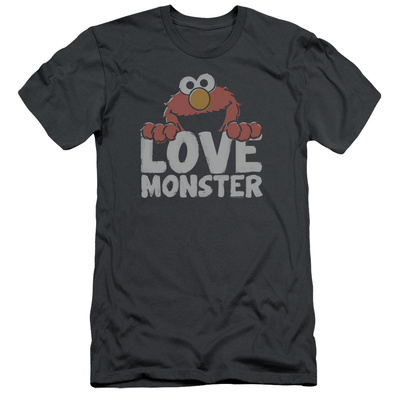Sesame Street- Elmo Love Monster (Slim Fit) T-Shirt