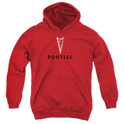 Youth Hoodie: Pontiac- Centered Arrowhead Pullover Hoodie