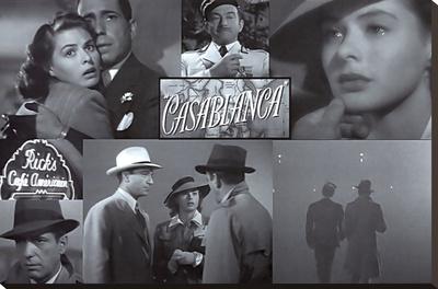 Casablanca Stretched Canvas Print