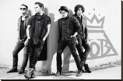 Fall Out Boy Stretched Canvas Print