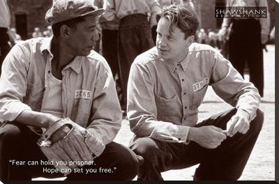 Shawshank Redemption - Hope Stretched Canvas Print