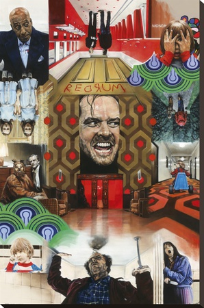 Paul Stone - The Shining Stretched Canvas Print