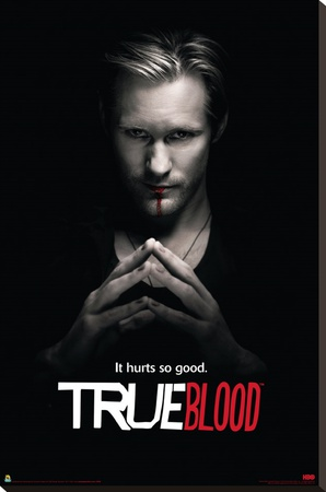 True Blood - Eric Solo Stretched Canvas Print